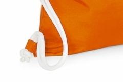 Pytlík oranžový s bílou