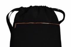 Pytlík zip černý