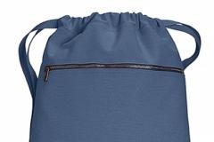 Pytlík zip blue jean