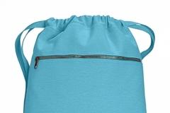 Pytlík zip modrá laguna