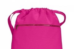 Pytlík zip růžový