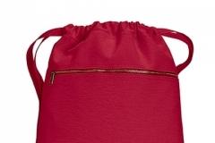 Pytlík zip červený